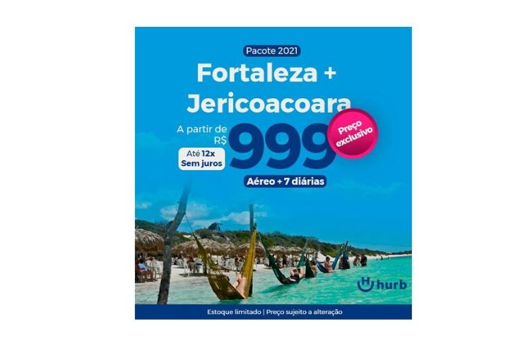 Pacote Fortaleza Jericoacoara - Hurb