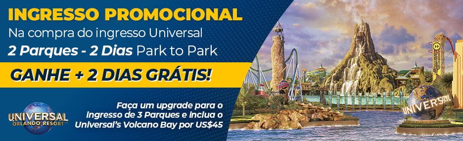 Ingressos Universal Orlando - Viagens Bacanas