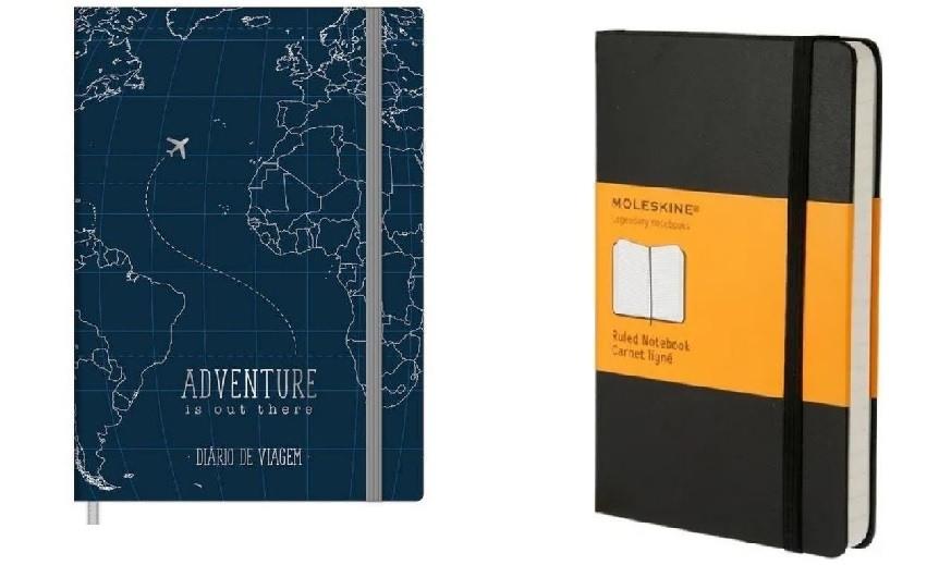 Cadernos de Viagem e Moleskines
