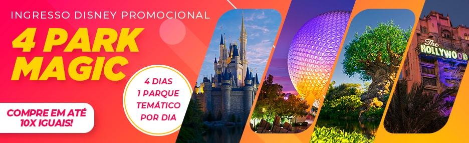 Ingressos Walt Disney World - Viagens Bacanas