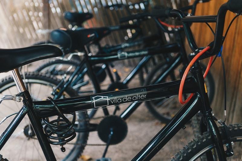 Bicicletas no Vila de Alter Pousada Boutique Amazônia - Viagens Bacanas