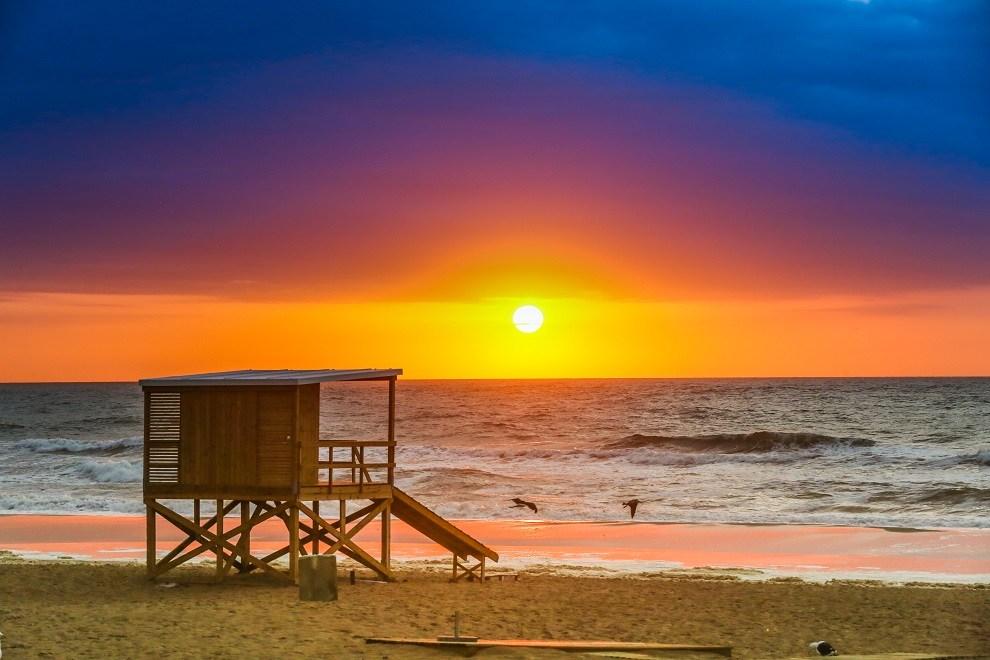 Pôr do sol em Punta del Este - Viagens Bacanas
