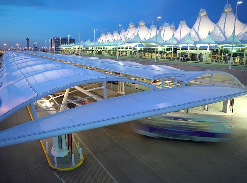 Aeroporto Internacional de Denver no Colorado