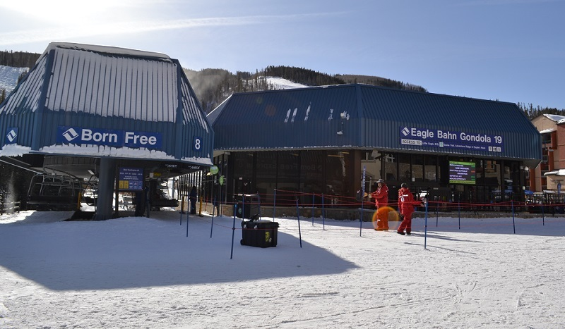 Eagle Bahn Gondola e Born Free Lift -Vail -Viagens Bacanas