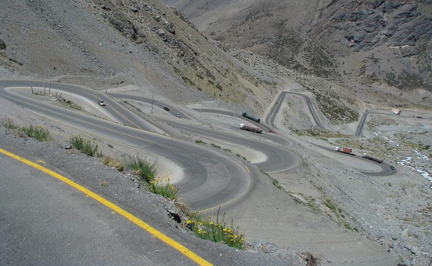 Estrada de Los Caracoles - Chile - Viagens Bacanas