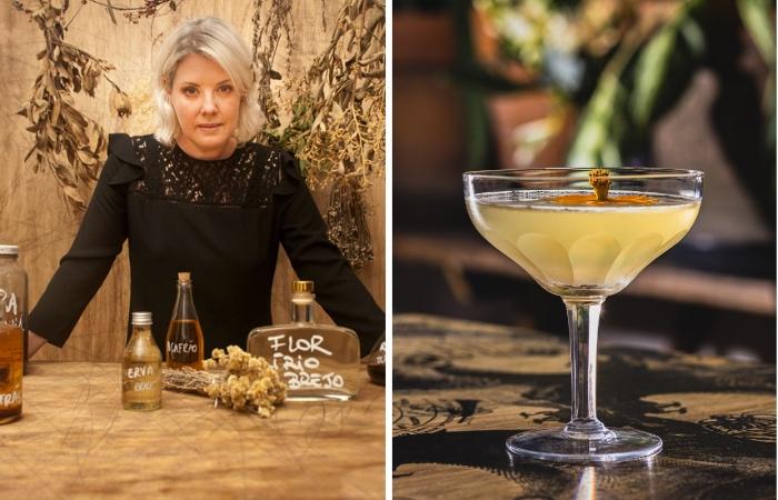 Neli Pereira - drink Primavera - foto divulgação