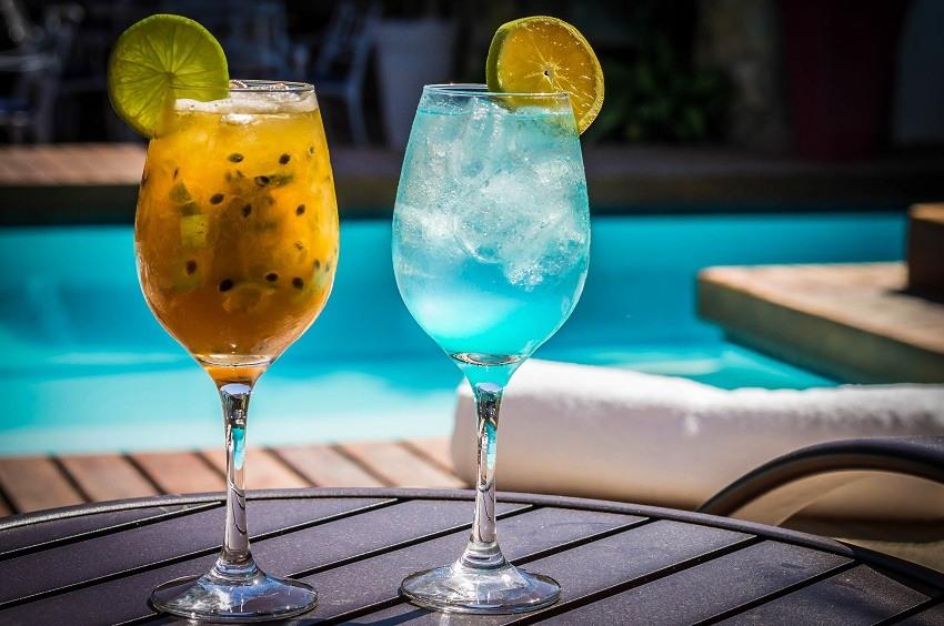 Drink Lagoa Azul da Pousada do Sandi