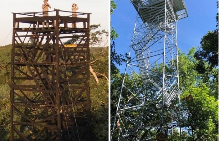 Torres de observação do Araras Eco Lodge