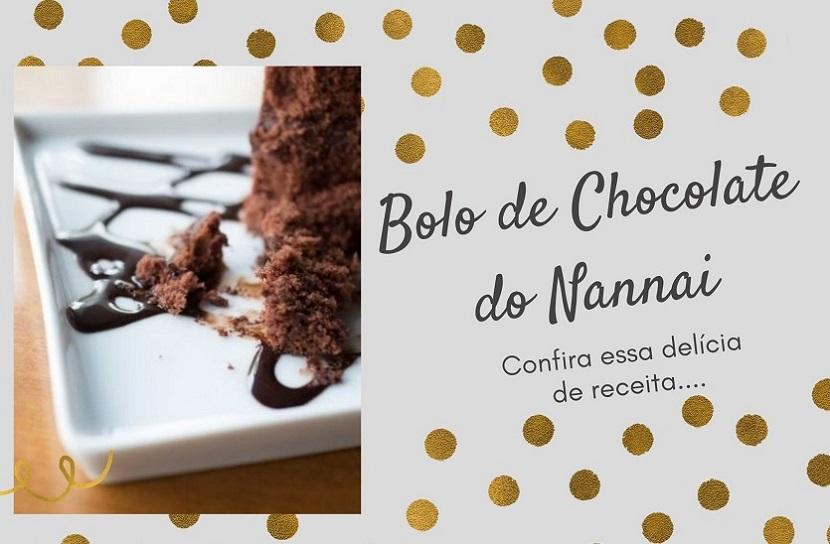Bolo de chocolate do Nannai Resort