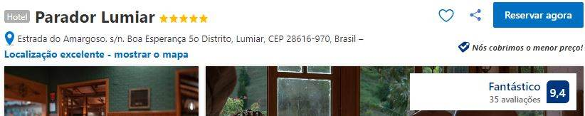 Parador Lumiar na Booking.com