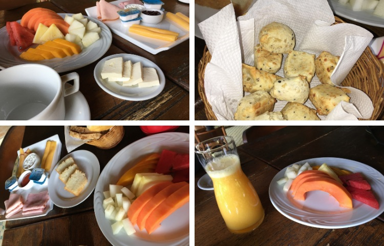 Café da manhã no Parador Lumiar - Viagens Bacanas