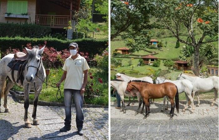 Cavalos no Parador Lumiar - Viagens Bacanas
