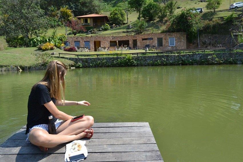 Lago do Parador Lumiar - Viagens Bacanas