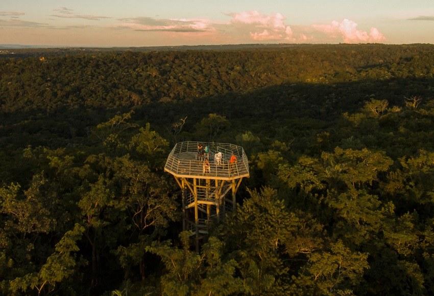 Torre de observação da Pousada do Parque