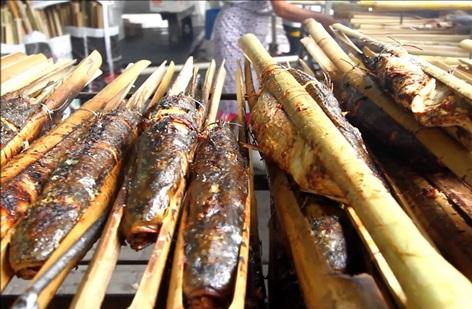 Tainha na Taquara - Foto crédito Chef Kaka