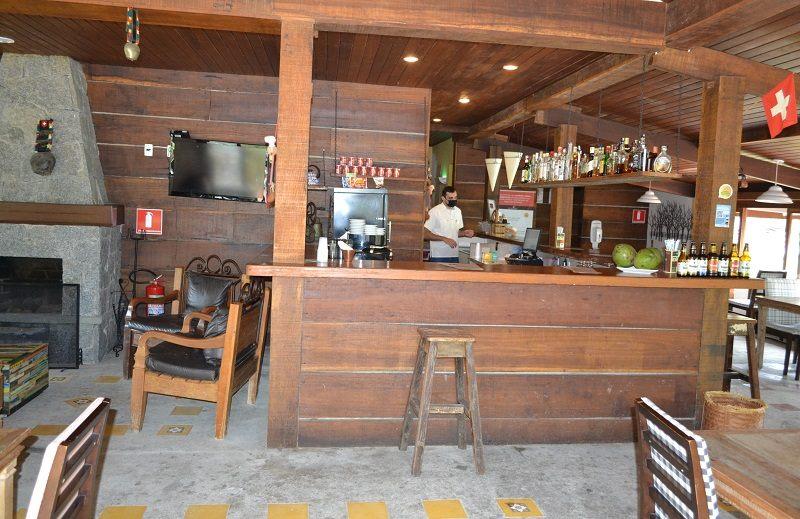Bar da Queijaria do Hotel Le Canton