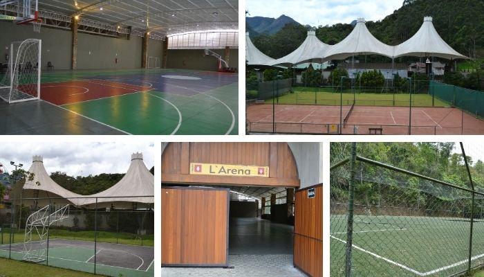 Complexo Esportivo do Hotel Le Canton