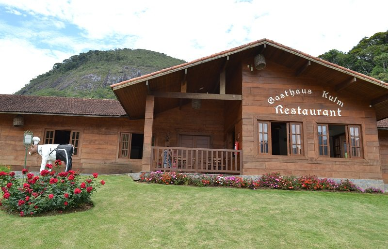 Restaurante Gasthaus no Hotel Le Canton