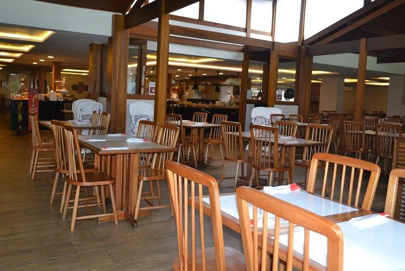 Restaurante Lugano no Hotel Le Canton