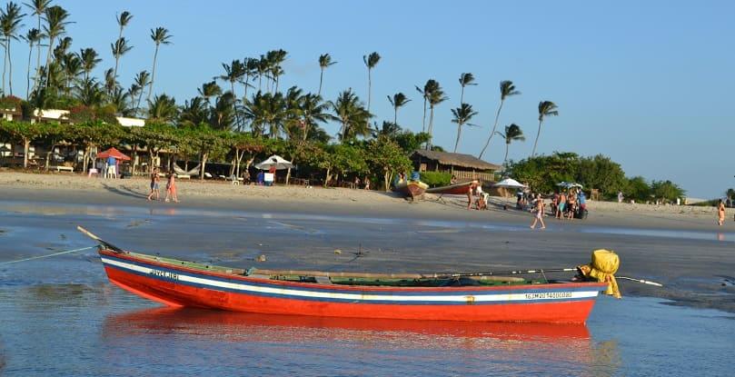 praia da vila de Jericoacoara - Viagens Bacanas
