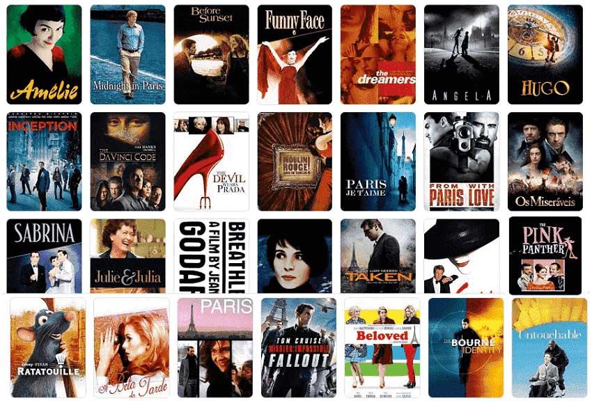 Filmes em Paris
