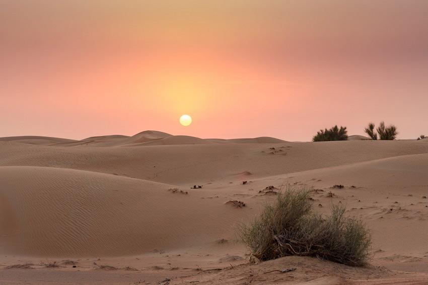 Deserto de Dubai - foto Pixabay