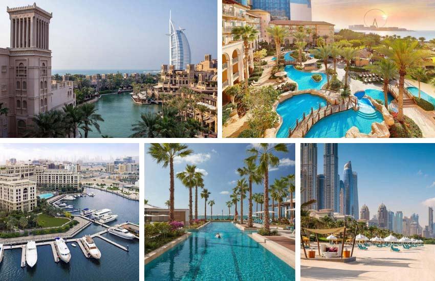 melhores hotéis de Dubai