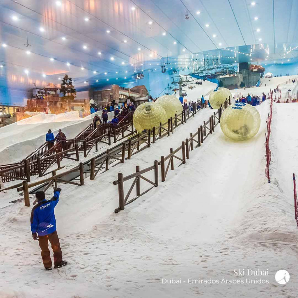 Ski Dubai - foto Interep