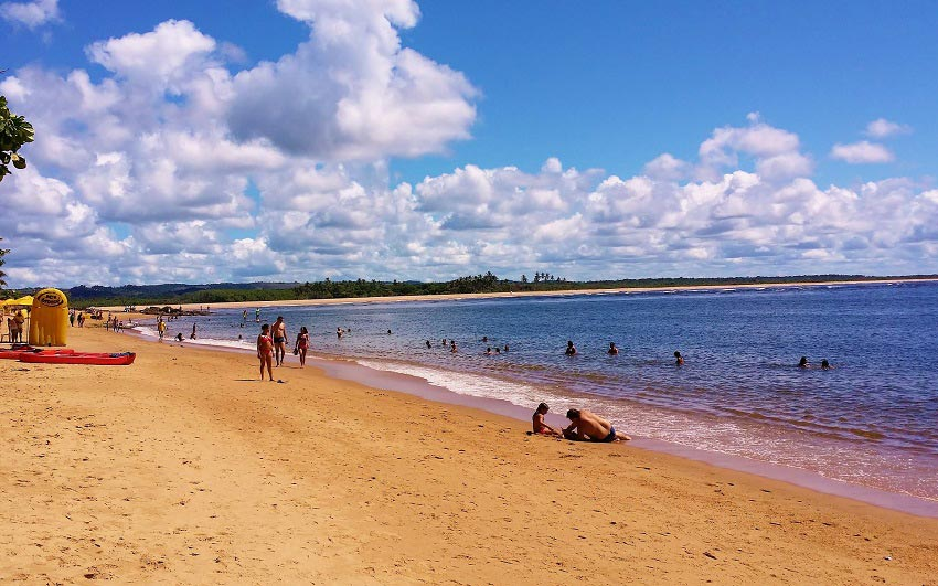 Praia da Concha em Itacaré - foto de Gustavo Boulhosa por Pixabay